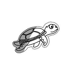 Marune turtle animal vector