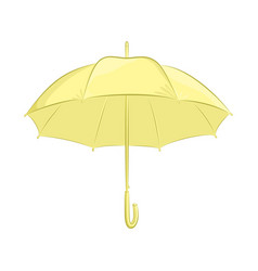 realistic umbrella female or male accessory the vector image