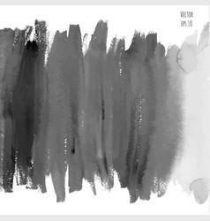 Dark black watercolor vector