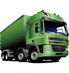 Lorry truck vector