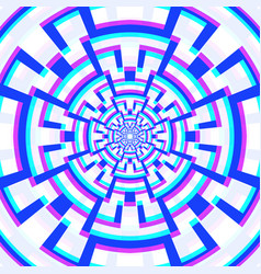 abstract geometry decoration vector image