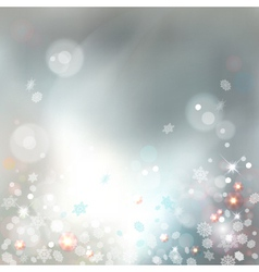 Christmas Abstract Bokeh Background vector image vector image