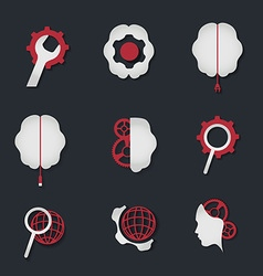 Iconset preview vector