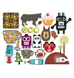 Mix of different images vol56 vector image
