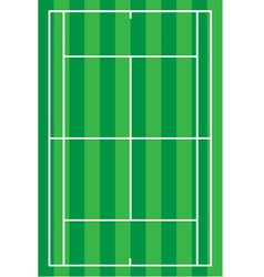 Sport tennis court vector