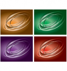 colored backgrounds vector image