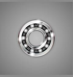 Bearings metal vector