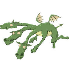 dragon from a fairy tale vector image