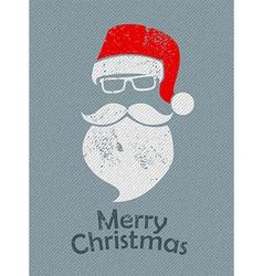 Christmas Santa background vector image