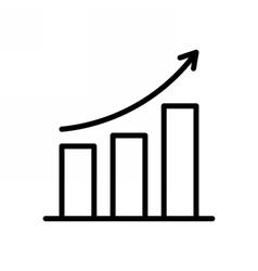 Business Progress Icon vector image vector image