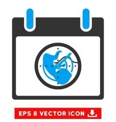 Radar calendar day eps icon vector
