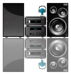 Sound system vector