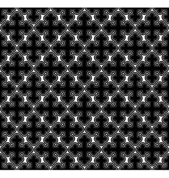 Cross geometric seamless pattern vector