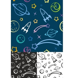 Seamless pattern space vector