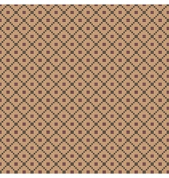 Traditional fair isle pattern vector