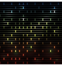 Striped shiny glowing multicolored vector
