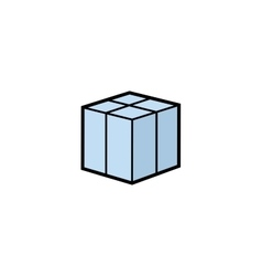 parcel box vector image