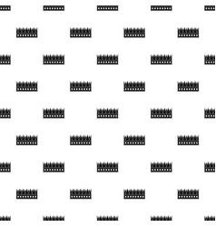Regal crown pattern vector