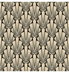 Seamless antique pattern ornament geometric art vector