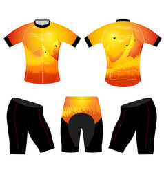 Silhouette t-shirt vector