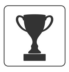 Trophy cup icon 2 vector