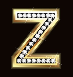 z bling vector image