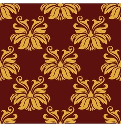Lush foliate seamless pattern vector