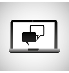 Technology device icon vector