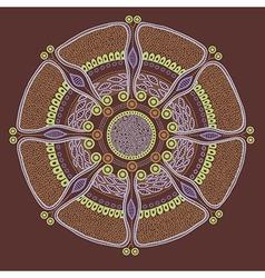 circle 2 vector image vector image