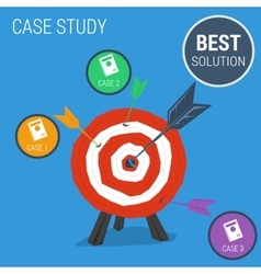 Concept case study with target vector