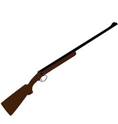 Hunting rifle vector