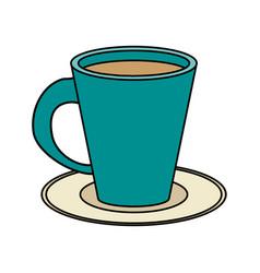 Coffee mug design vector