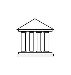 colimns icon vector image