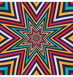 Abstract background - crazy colorful lines vector image