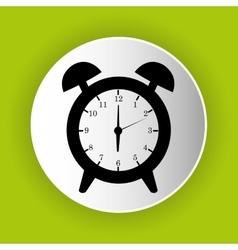 clock icon symbol design vector image vector image