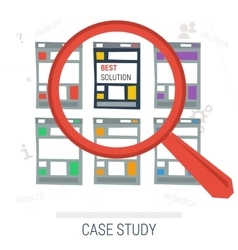 Concept case study best solution vector