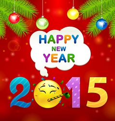 2015 smile idea vector image