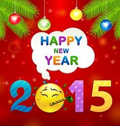 2015 smile idea vector image