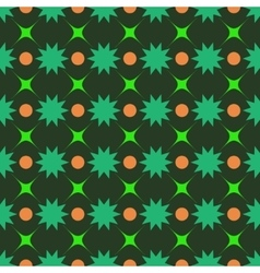 Circle and star seamless pattern vector