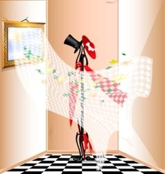 beige room vector image vector image