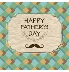 Dad celebration vector image