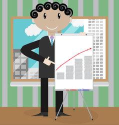Finance presentation growth profit money vector