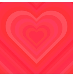 Abstract Colorful Valentine Background vector image vector image
