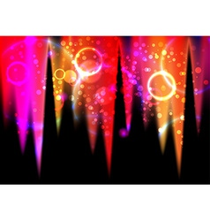 Abstract light flares vector image vector image