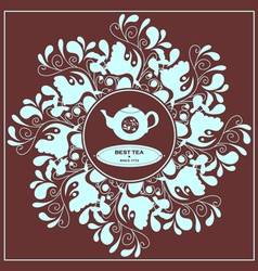 Best Tea vector image vector image