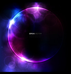 Cosmic background vector image vector image
