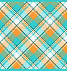 Madras check plaid light seamless pattern vector