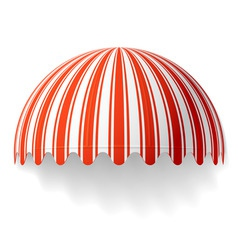 dome awning vector image