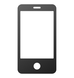 Smartphone gradient icon vector