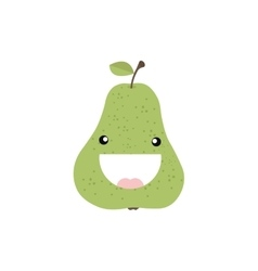 Abstract delicious pear vector